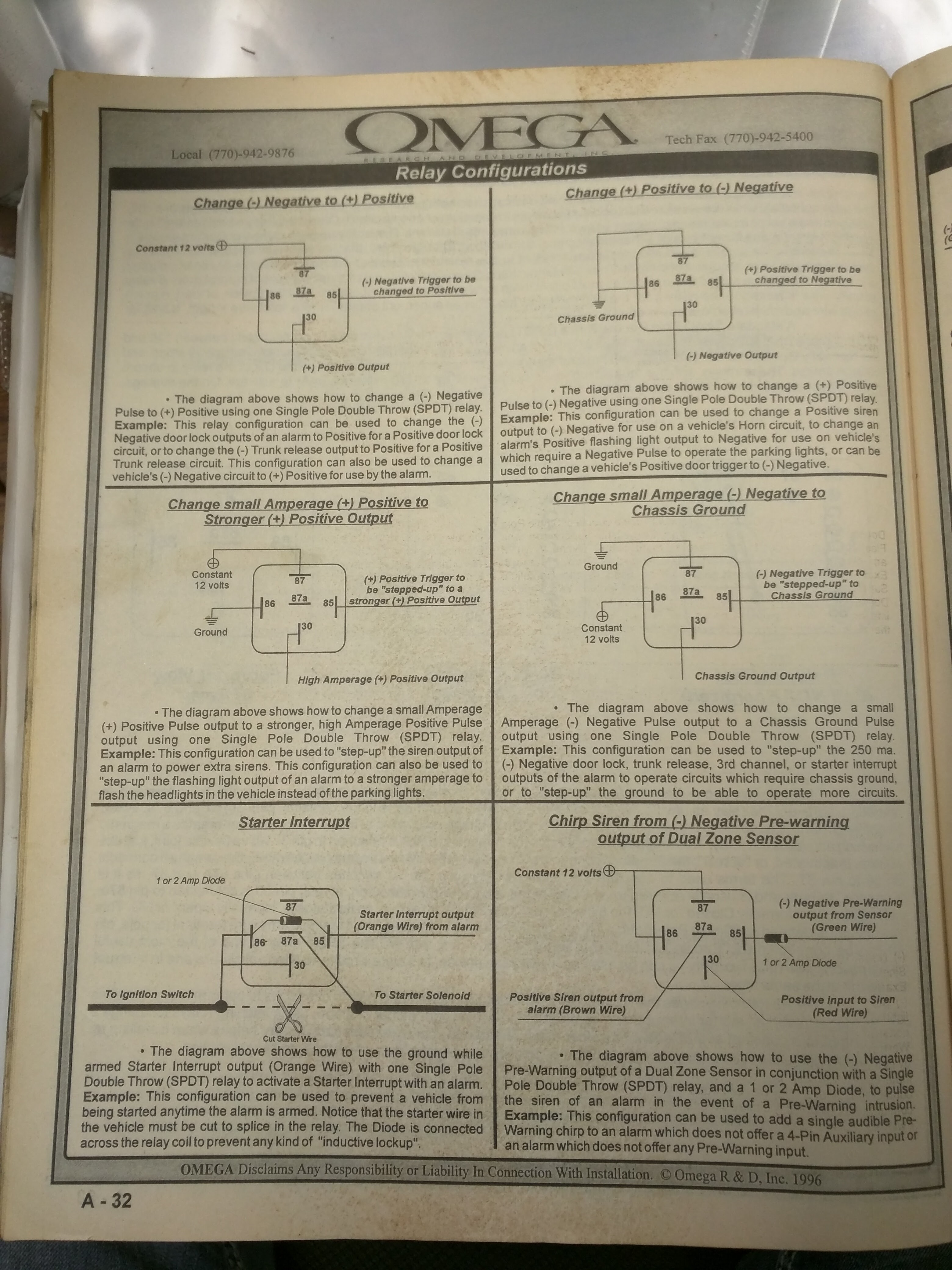 Mark Viii Featured Tech And Schematics The Lincoln Registry 1996 8 Engine Diagram Relay 1