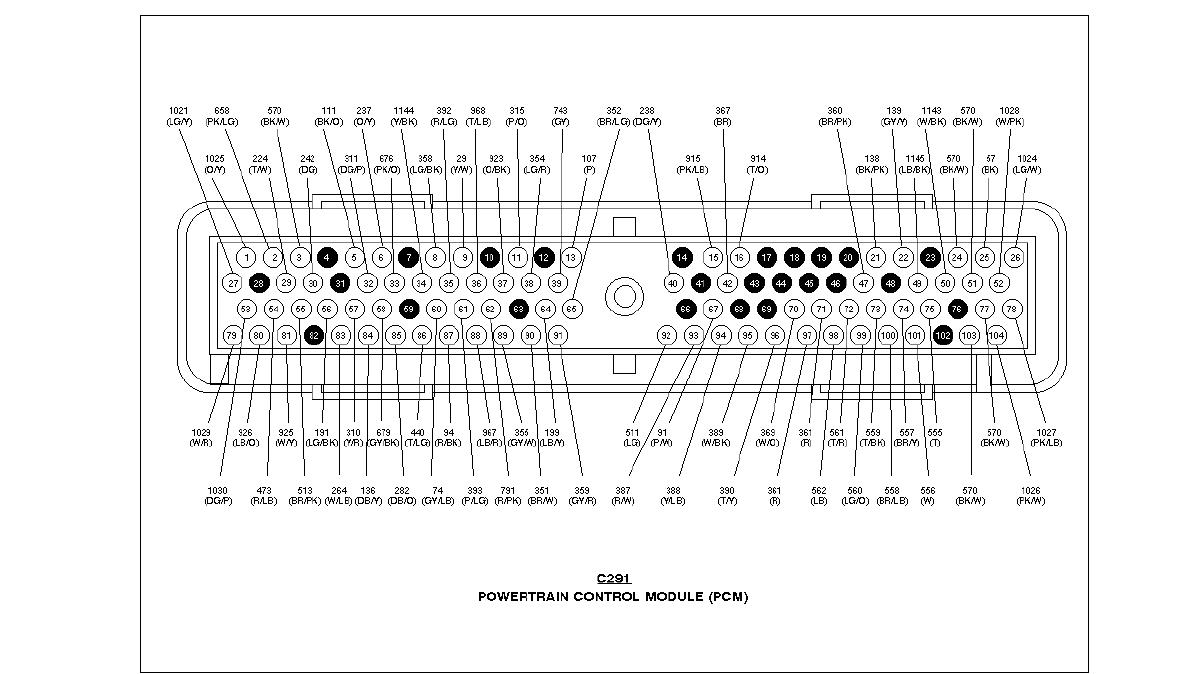 Mark Viii Featured Tech And Schematics The Lincoln Registry Radio Wiring Diagram 1997 Ecu Pins 2