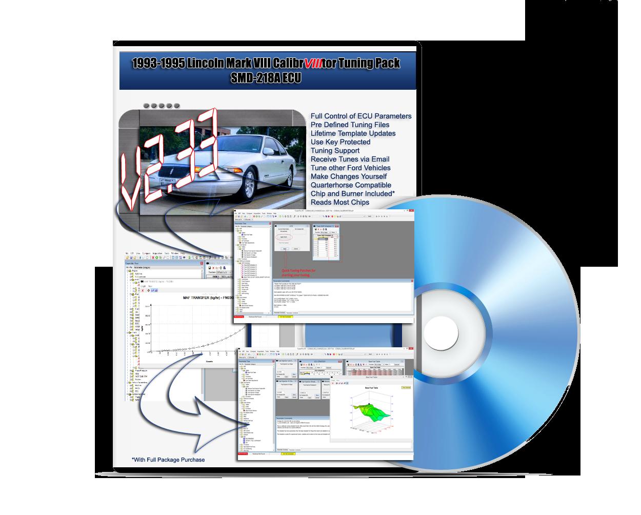 1993-1995 CalibrVIIItor Software - The Mark VIII Tuning Registry